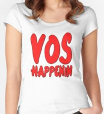 Vos Happenin One Direction Women's Fitted Scoop T-Shirt