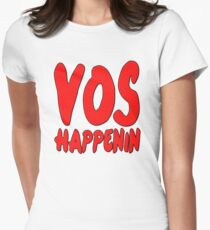 Vos Happenin One Direction Women's Fitted T-Shirt