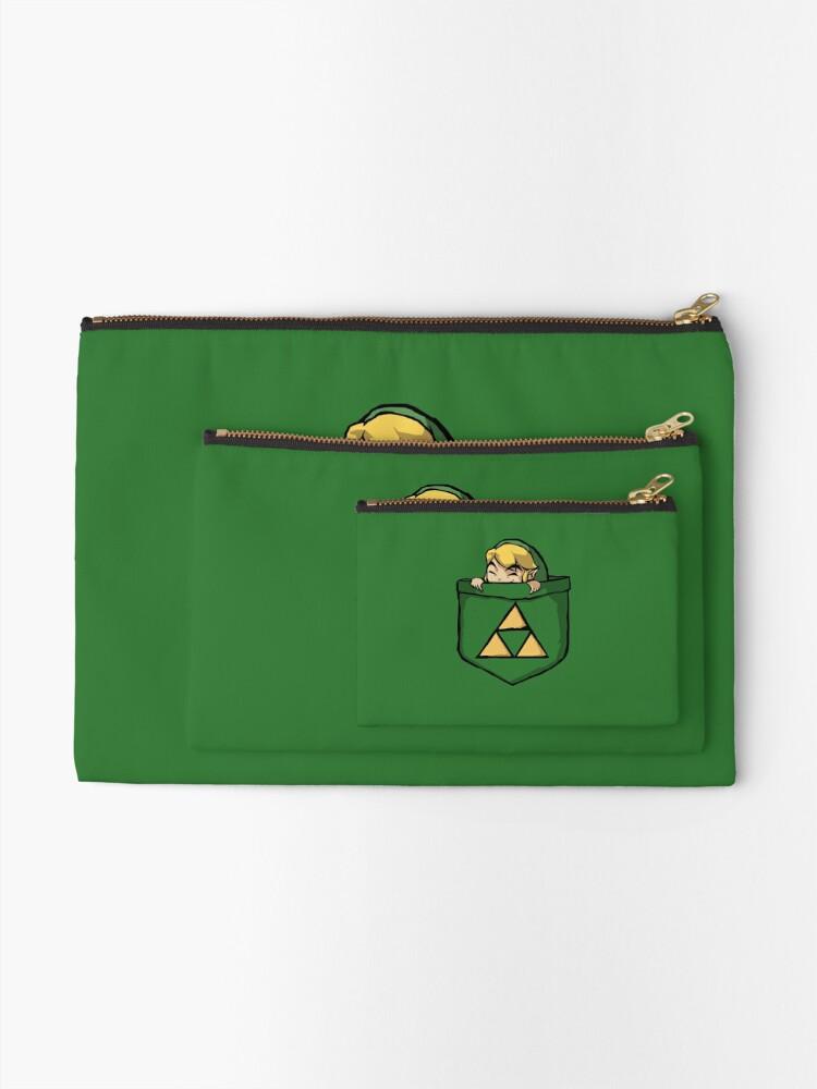 Alternate view of Legend of Zelda - Pocket Link Zipper Pouch