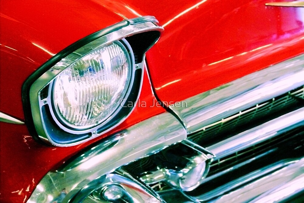 Flashy Red by Carla Jensen