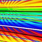 Rainbow lines - Julia fractal by bubblehex08