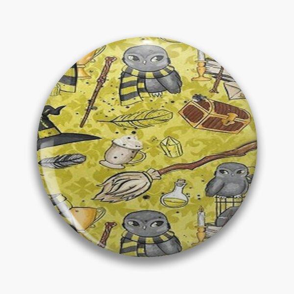 Yellow House Wizarding World Pin