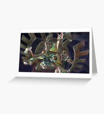 Midna, the fourth Goddess Greeting Card