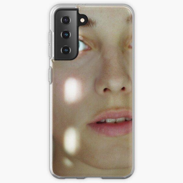 heller Punkt im Auge Samsung Galaxy Flexible Hülle