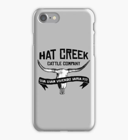 Hat Creek v2 iPhone Case/Skin