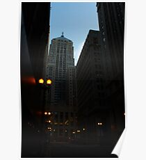 LaSalle St. Chicago, IL Poster