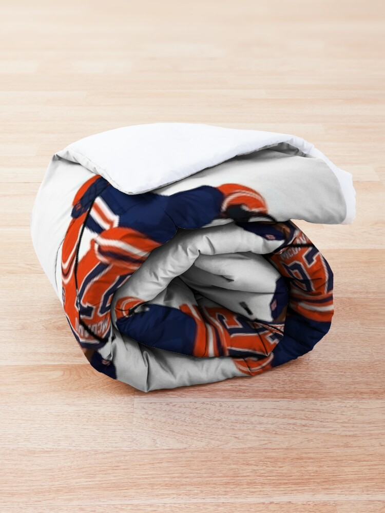 Alternate view of Connor McDavid Comforter