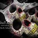 Skull Art Hand Made by Rita  H. Ireland