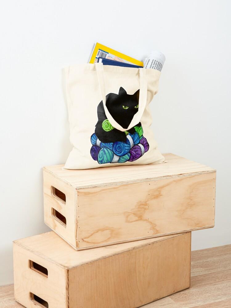 Alternate view of Yarn hoarding void Tote Bag