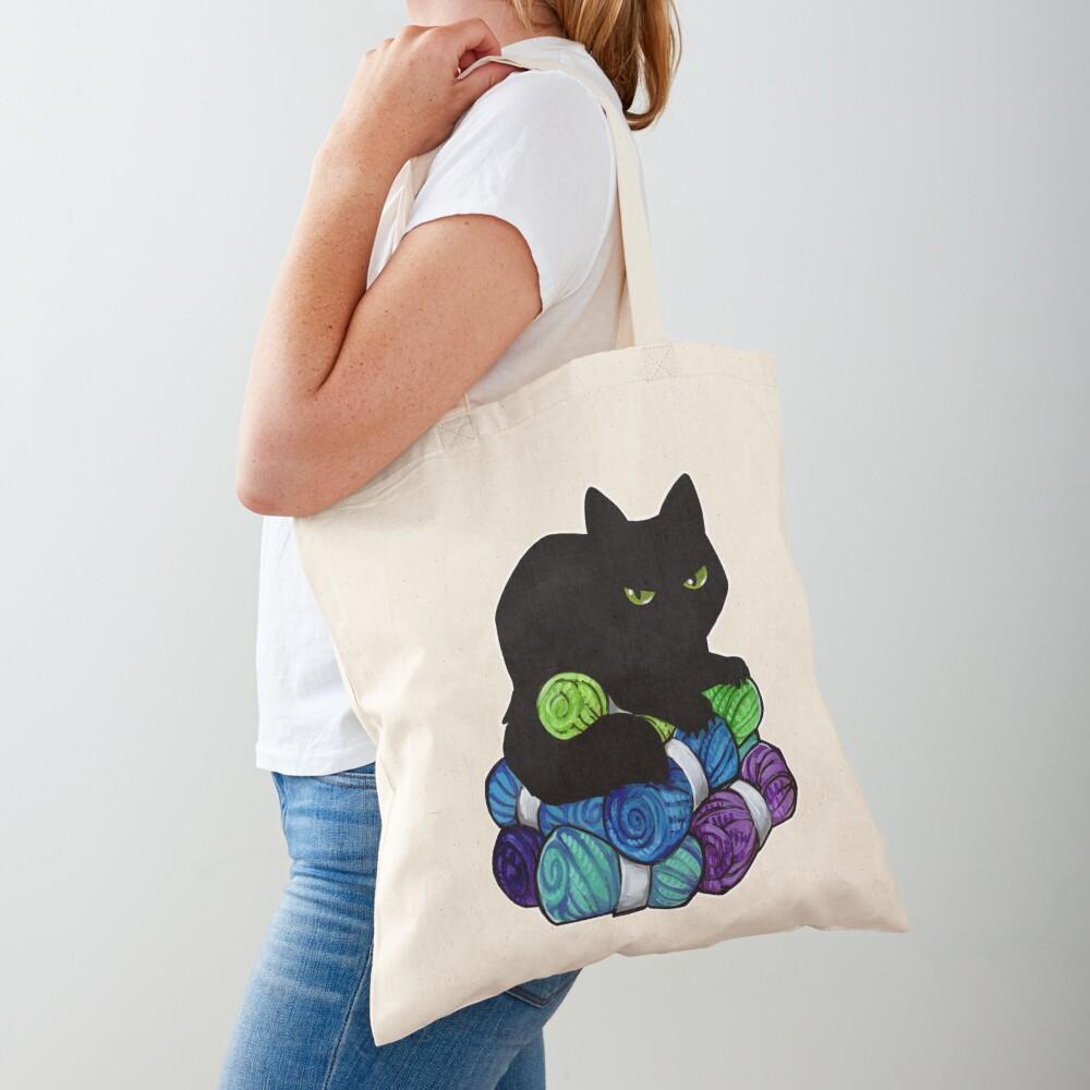 Yarn hoarding void Tote Bag