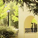 Morning Coffee in Mission San Jose by Ellen Cotton