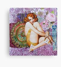 Pin Up Girls: Smoke This Canvas Print
