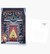 Gravity Falls Christmas Mystery Shack Postcards