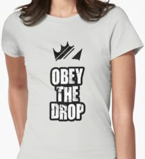 Obey The Drop Womens Fitted T-Shirt