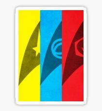 Starfleet Emblems - Original Series Sticker