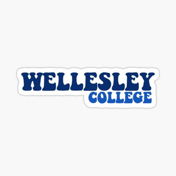 Wellesley College Sticker