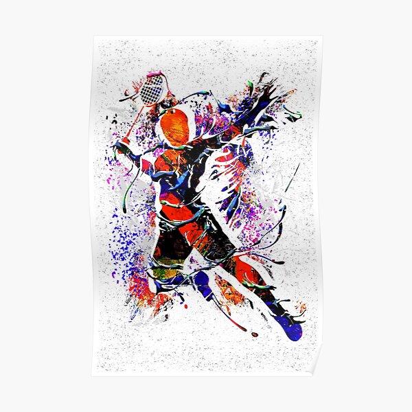 Badminton - Badminton Player - Badminton Backpack Poster