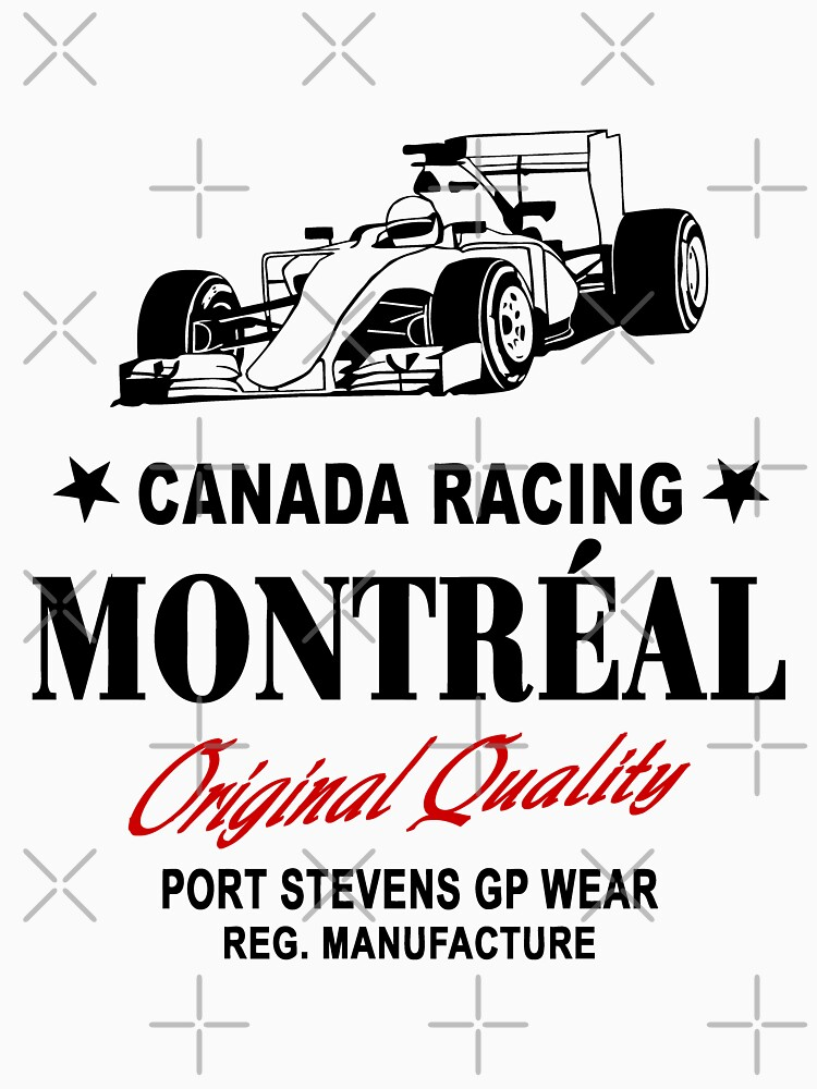 Montreal Canada Racing - Formula One Racer by Port-Stevens