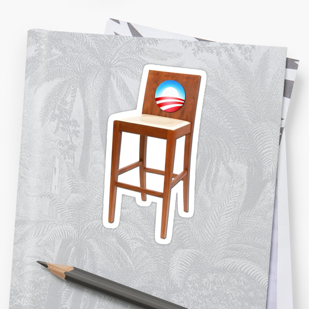 Quot Obama Empty Chair Clint Eastwood Quot Stickers By Gleekgirl