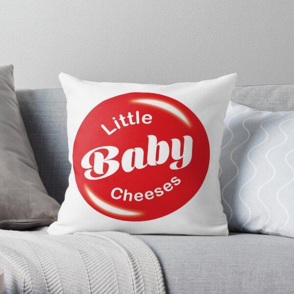 Little baby cheeses, Kath & Kim Throw Pillow