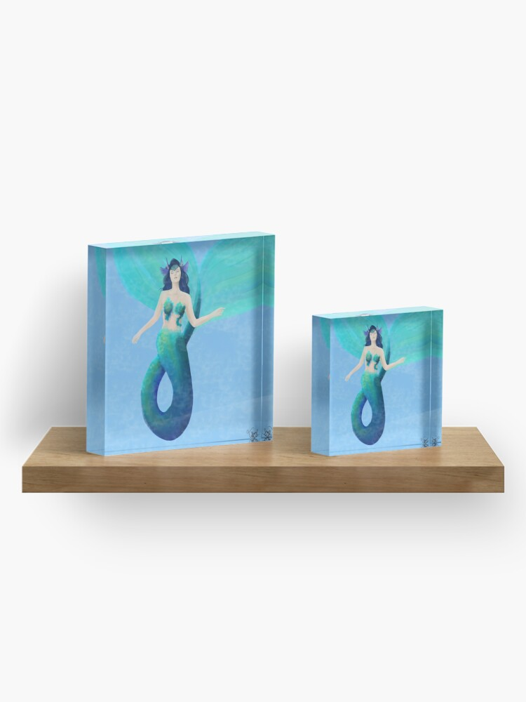 Alternate view of The Watery Acrylic Block