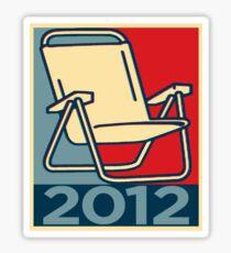 Chair 2012 Sticker