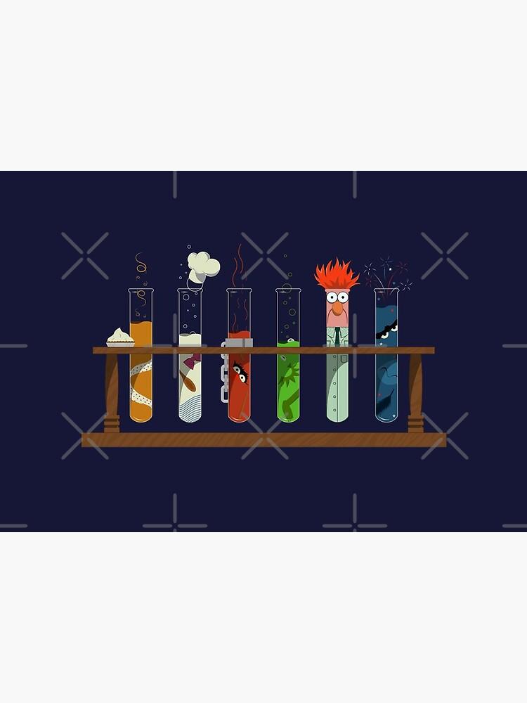 Muppet Science - Chemistry  by TenkenNoKaiten