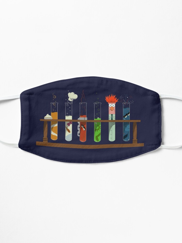 Alternate view of Muppet Science - Chemistry  Mask
