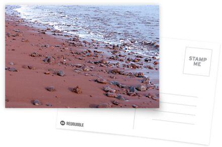Red sand. von Anne Scantlebury