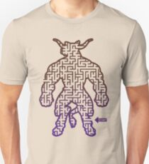 The Labyrinth in the Minotaur  T-Shirt
