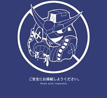 PSA (Gundam + white lines ver.) Unisex T-Shirt