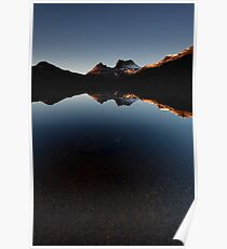 Fathers Day at Cradle Mountain Poster