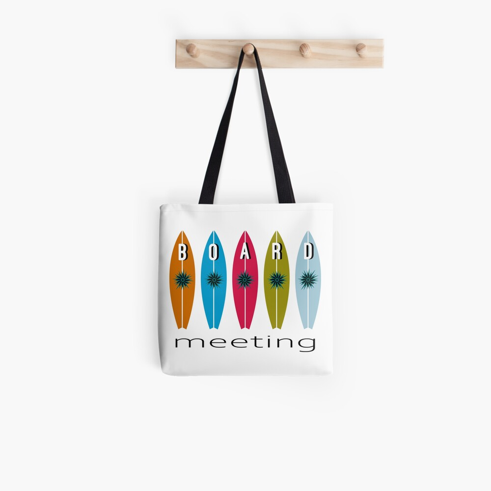 I love surfing surf board meeting Tote Bag