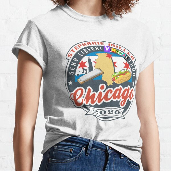 Stephanie Miller's Sexy Liberal Virtual Tour - Chicago Classic T-Shirt