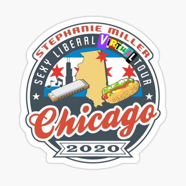Stephanie Miller's Sexy Liberal Virtual Tour - Chicago Sticker