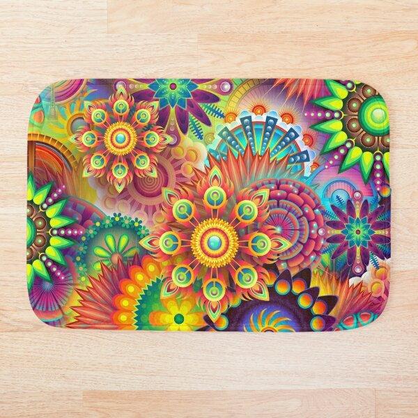 Hippie Color Bath Mat