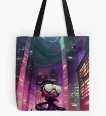 """Invader Zim Fan Art - Dib """"The Nightmare Begins"""" Tote Bag"""