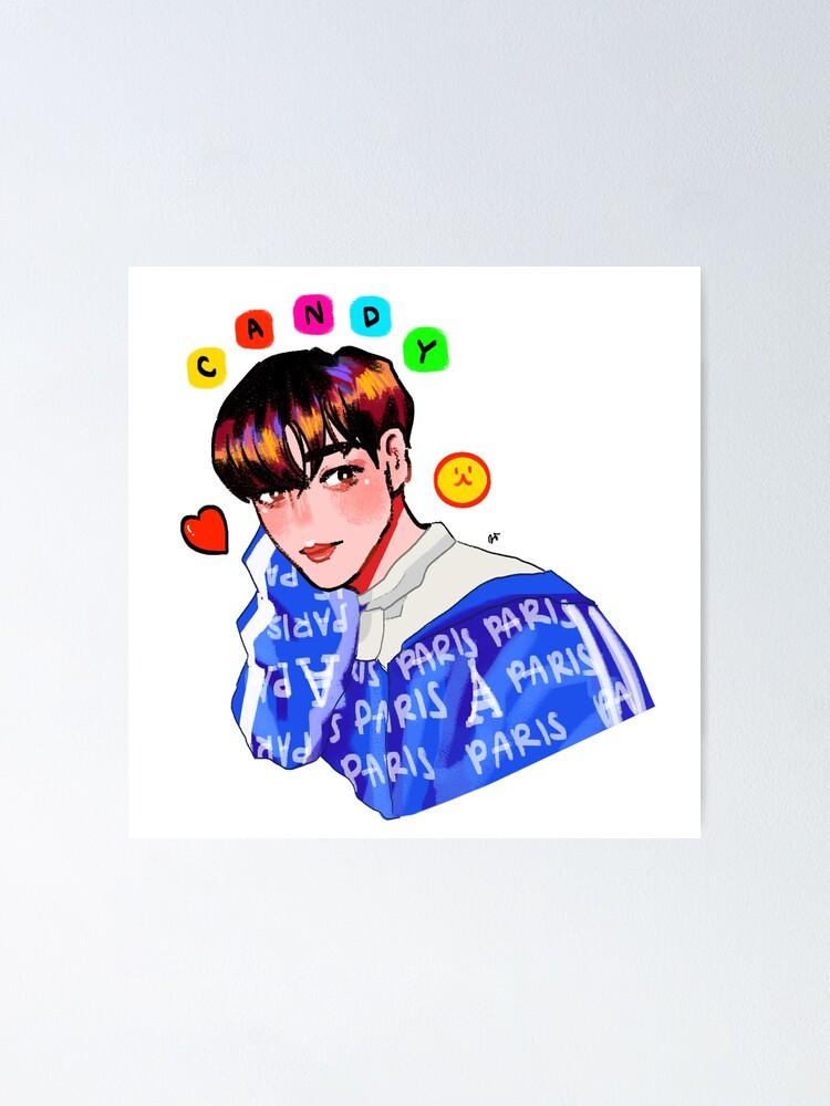 Exo Baekhyun Candy Poster By Cheiyori Redbubble