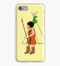 A Native Red Indian Girl of America iPhone case design iPhone Case/Skin
