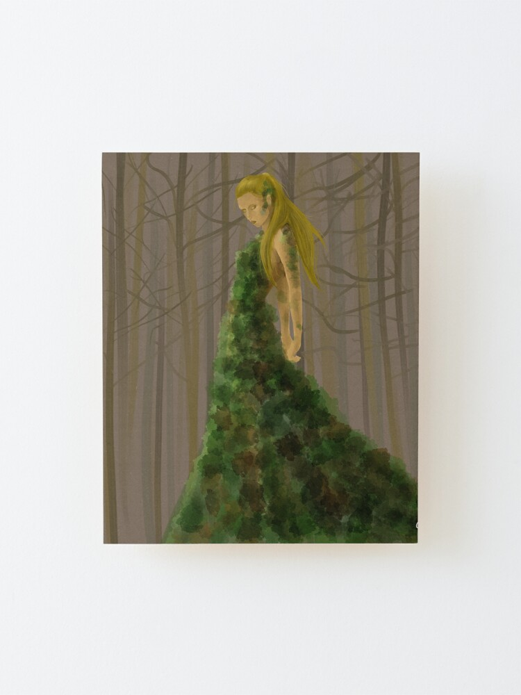 Alternate view of The Wood Mounted Print