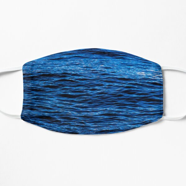 Ocean waves Flat Mask