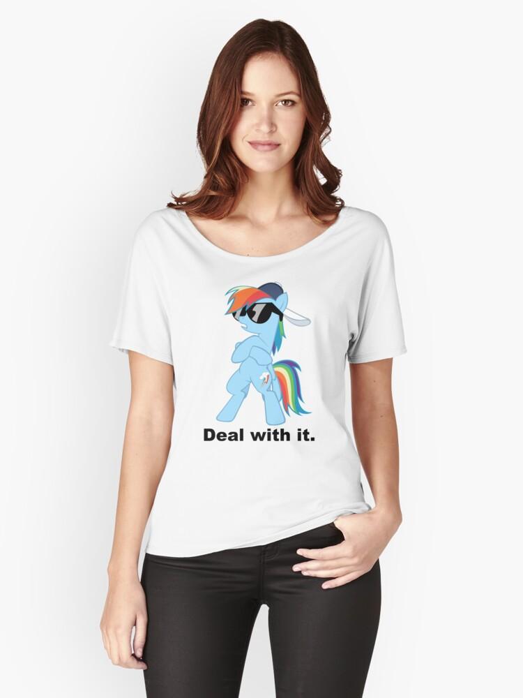 7297d9e8d3 Deal with it Rainbow Dash