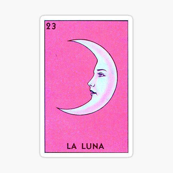 Luna Tarot PINK Sticker