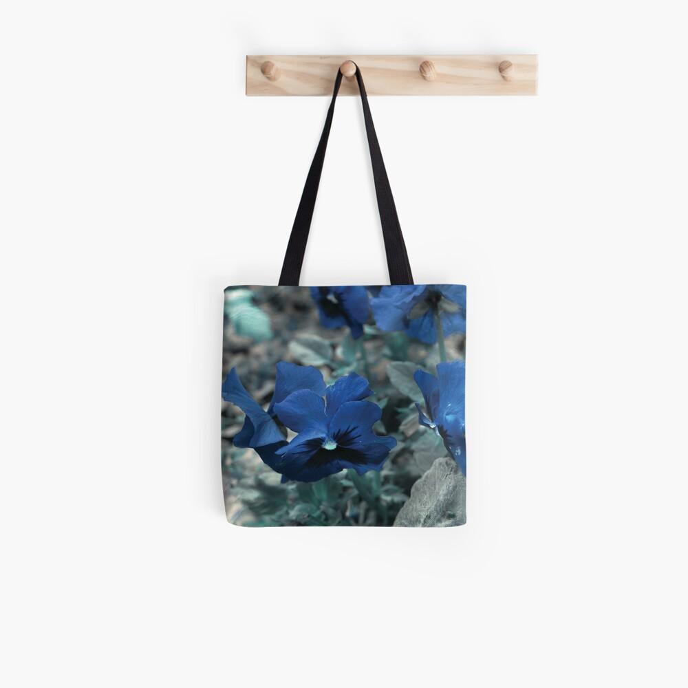 Ocean Pansies Tote Bag