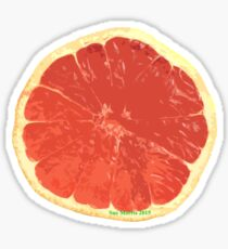Mmm...Grapefruit Sticker