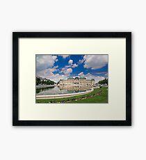 Belvedere Palace, Vienna, Austria Framed Print