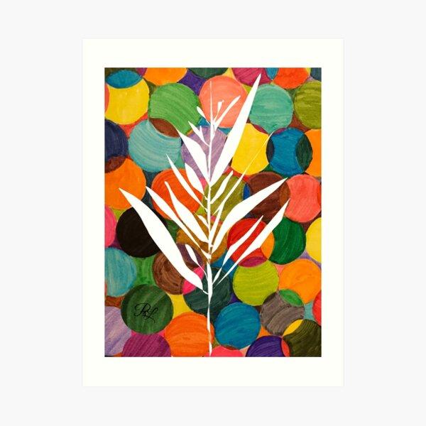Whispy Tree  Art Print