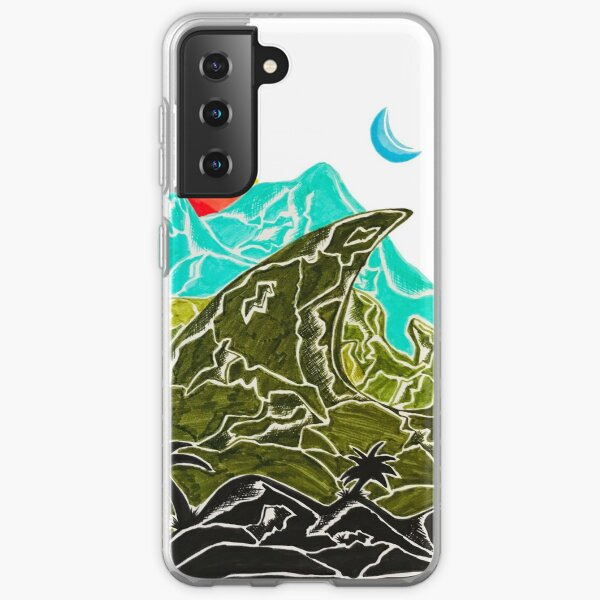Mountains in Paradise Samsung Galaxy Soft Case