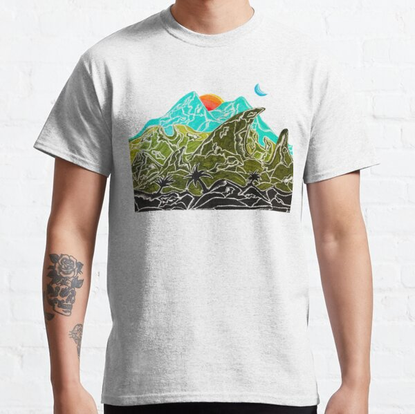 Mountains in Paradise Classic T-Shirt