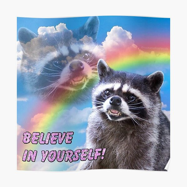 Glaub an dich Poster